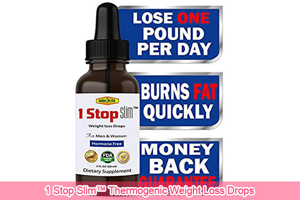 1 Stop Slim™ Thermogenic Weight Loss Drops