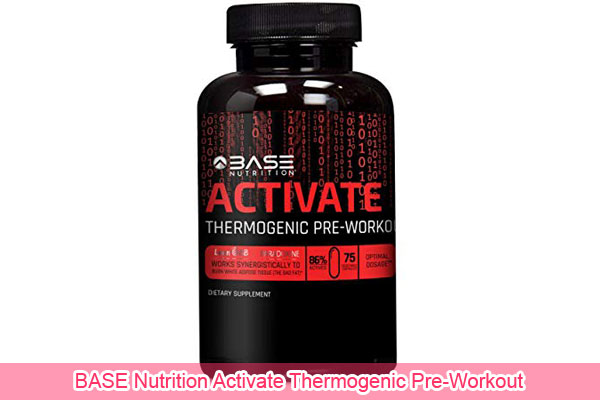 BASE Nutrition Activate Thermogenic Pre-Workout